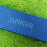 ANKERの小型スピーカーが好きなので、おすすめ
