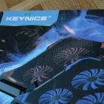 KEYNICEのパソコン用冷却ファン(扇風機)の口コミ・レビュー